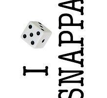 I Heart Snappa - iPhone case by SnappaStuff
