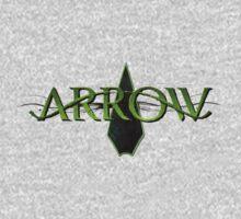 Arrow One Piece - Short Sleeve
