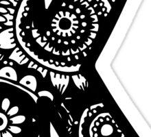 K Doodle Letter Sticker
