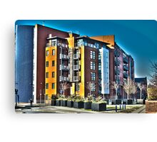 City Living 3 Canvas Print