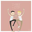 U+ME=OTP TONYxSTEVE by nickelcurry