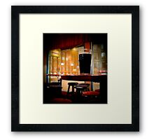 Friday Night Beer Framed Print