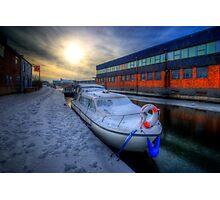 Snow Boat 1.0 Photographic Print