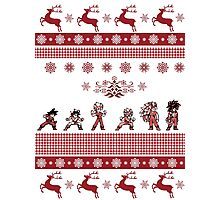 Dragonball Z Christmas Edition *LIMITED* Photographic Print