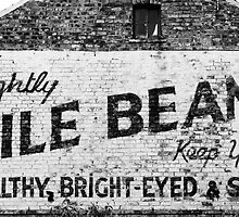 Bile Beans advert by Robert Down