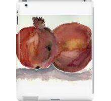 Pomegranates in watercolor iPad Case/Skin