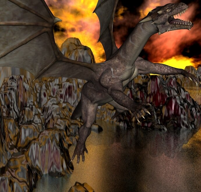 Fearsome Dragon 2012 by XadrikXu