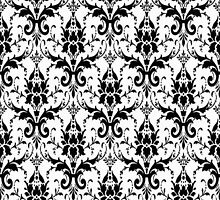 Vintage Floral Pattern by A1RB