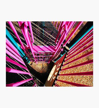 Pretty Pink Playset Photographic Print