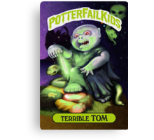 Potter Fail Kids - Terrible Tom - COLOR! Canvas Print
