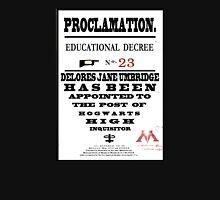 Harry Potter Proclamation Unisex T-Shirt