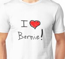 I love heart Bernie Sanders 2016 election  Unisex T-Shirt