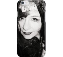 Touched by the hand of Chris iPhone Case/Skin