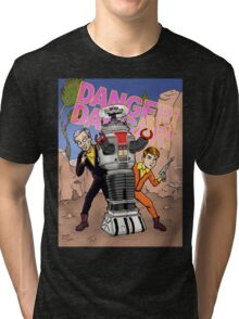 Danger, Will Robinson! Tri-blend T-Shirt