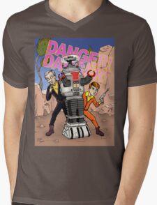 Danger, Will Robinson! Mens V-Neck T-Shirt