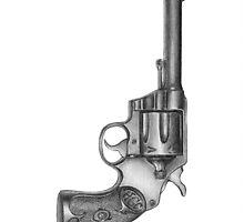 Revolver Iphone Case by HermesGC