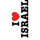 I love Israel  by Ronsho