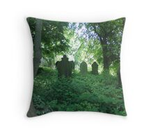 Memory lingers here Throw Pillow