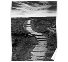 Lifes Paths Are Never Straight But Over The Horizon May Be Your Dream Poster