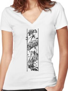 Junk DNA Women's Fitted V-Neck T-Shirt