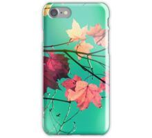 Pink autumn iPhone Case/Skin