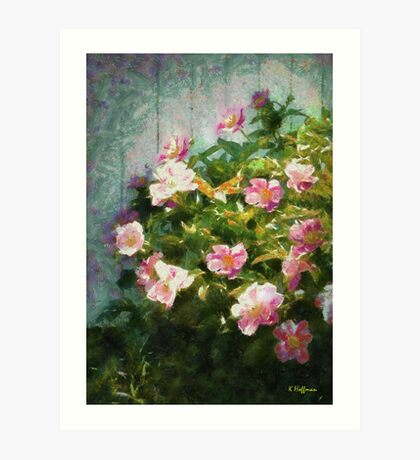 The Queen of The Peony Art Print