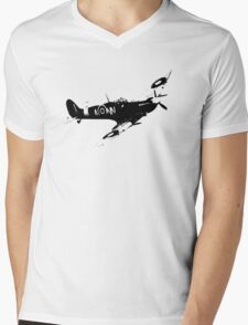 Spitfire Mens V-Neck T-Shirt