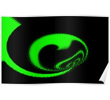Green Fractal. Poster