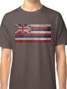 State Flag of Hawaii,  retro style vintage 1-2 scale version Classic T-Shirt