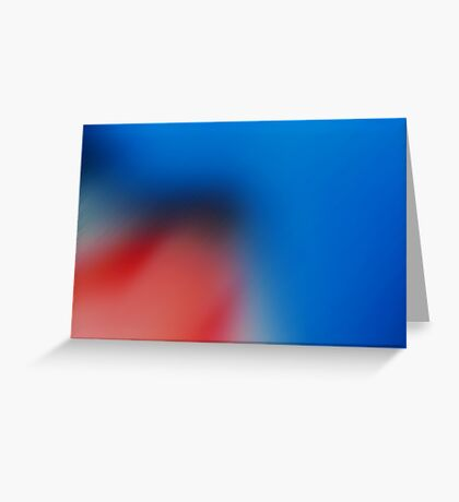 Smooth Blue Greeting Card
