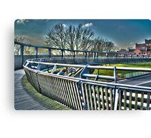 Bridge 2 Canvas Print