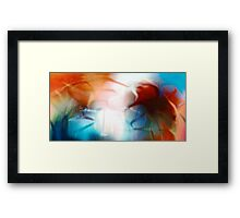 Buried in Lies Framed Print
