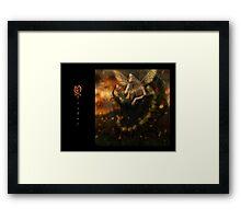 October Fairy Framed Print