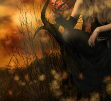 October Fairy Sticker