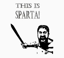 This is SPARTA! Womens Fitted T-Shirt