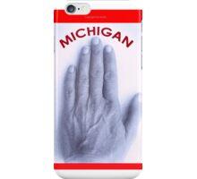 a Michigander's t-shirt iPhone Case/Skin