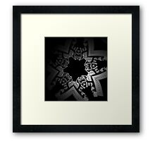 the new monopoly piece Framed Print