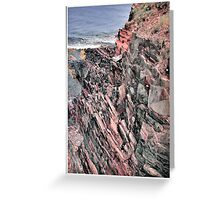 Eroded Beauty Greeting Card