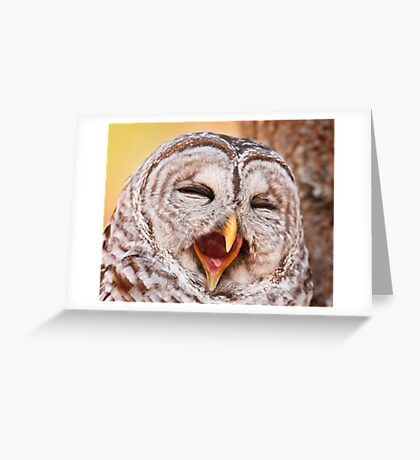 Say Awe... Greeting Card