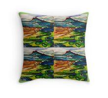 Castle hills Throw Pillow