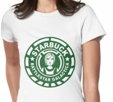 Starbuck Coffee Womens Fitted T-Shirt