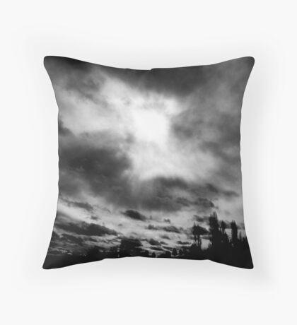 Chaos Above Throw Pillow