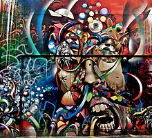 Mission District, Clarion Street Art, San Francisco, California, by Scott Johnson