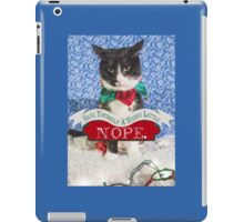 Merry Little Nope iPad Case/Skin
