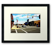 Small Town 3 Framed Print