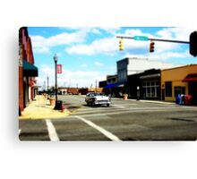 Small Town 3 Canvas Print