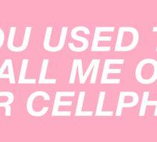 Hotline Bling Sticker