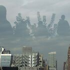 people in the sky by Olsen