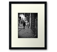Spring approaches Autumn Framed Print