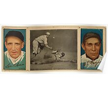 Benjamin K Edwards Collection Leon Ames John T Meyers New York Giants baseball card portrait Poster